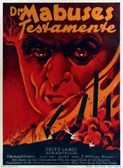 Poster The Testament of Dr. Mabuse