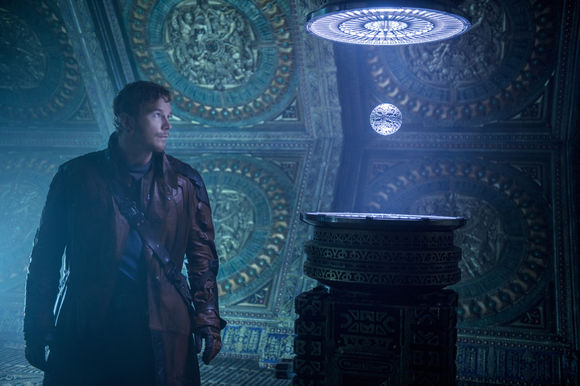 Chris Pratt în Guardians of the Galaxy