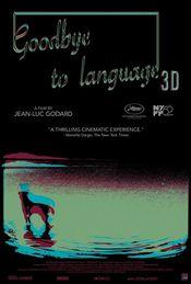 Poster Adieu au langage