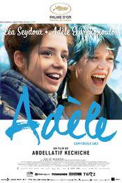 Poster La vie d'Adèle