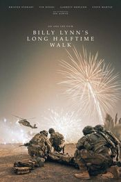 Poster Billy Lynn's Long Halftime Walk
