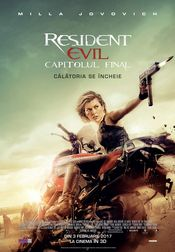 Poster Resident Evil: The Final Chapter