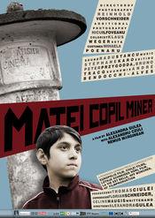 Poster Matei copil miner