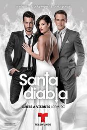 Poster Santa Diabla