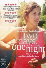 Poster Deux jours, une nuit