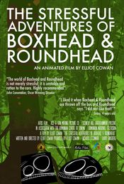 Poster The Stressful Adventures of Boxhead & Roundhead