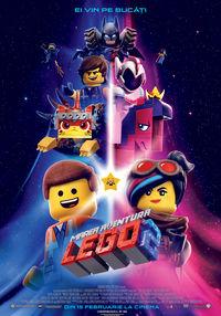 Poster MAREA AVENTURA LEGO 2 - 3D - DUBLAT