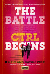 Poster Halt and Catch Fire