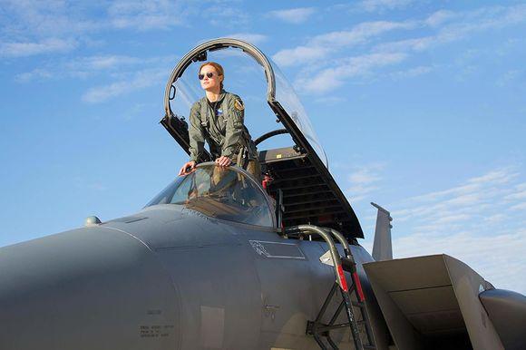 Brie Larson în Captain Marvel