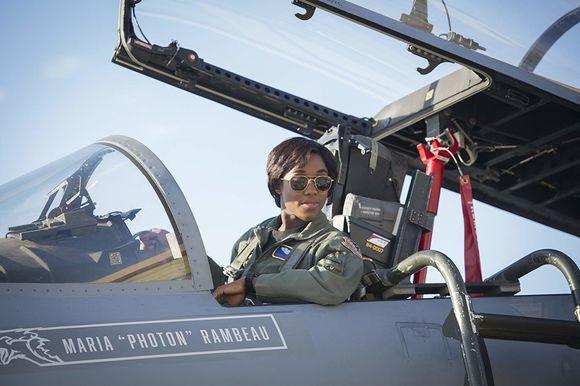 Lashana Lynch în Captain Marvel