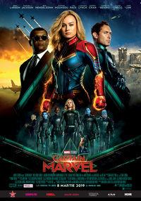 Poster CAPTAIN MARVEL - 3D