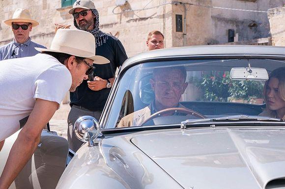 Daniel Craig, Léa Seydoux, Cary Joji Fukunaga în No Time to Die
