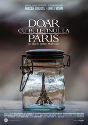 Poster Doar cu buletinul la Paris