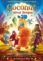 Poster Coconut The Little Dragon 3D