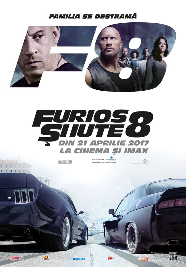 fast furious 8 furios i iute 8 2017 film. Black Bedroom Furniture Sets. Home Design Ideas