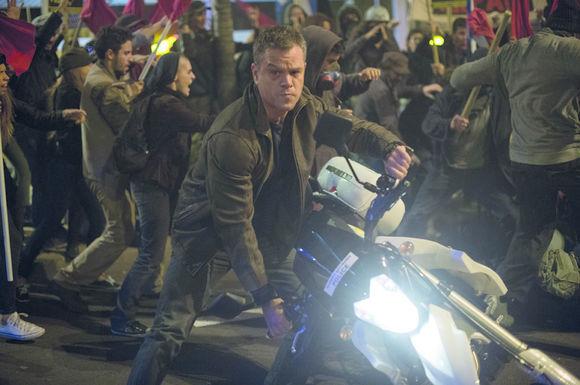 Matt Damon în Jason Bourne