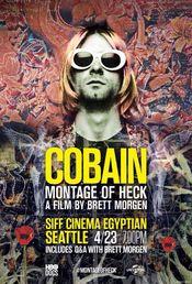 Poster Kurt Cobain: Montage of Heck
