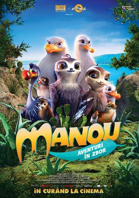 Manou the Swift (Manou - Aventuri in zbor)