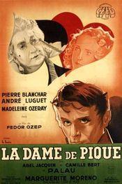 Poster La dame de pique