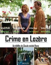 Poster Crime en Lozère