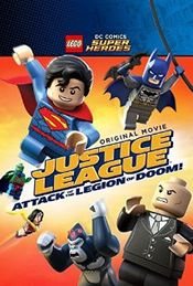 Poster Justice League - Attack of the Legion of Doom!