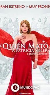 Poster Quién mató a Patricia Soler?