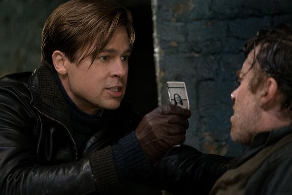 Brad Pitt în Allied