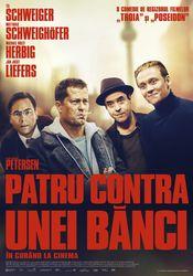 Poster Vier gegen die Bank
